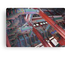 Korean Palace Ceiling Canvas Print