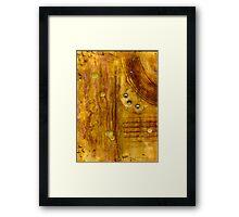 Brass Tokens III Framed Print