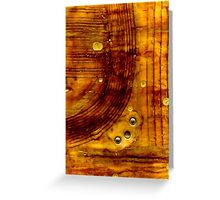 Brass Tokens I Greeting Card