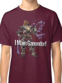 I Main Ganondorf - Super Smash Bros. Classic T-Shirt