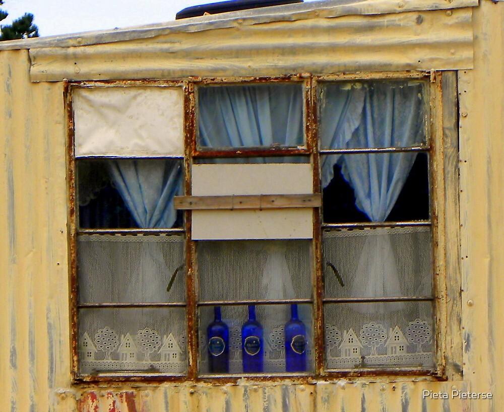 My only window ... by Pieta Pieterse