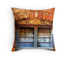 what light through yonder window breaks? Throw Pillow