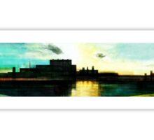 Factory Sunset Sticker