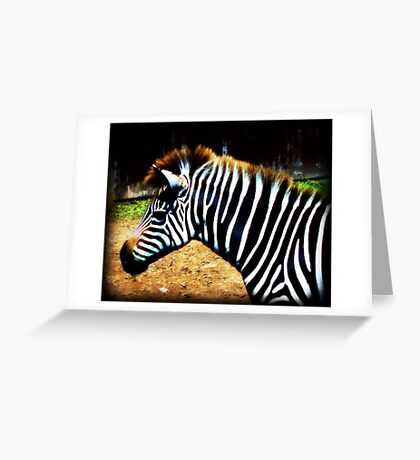 Strong in Stripes Greeting Card