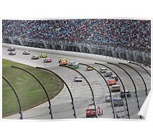 Chicagoland Speedway Geico 400 Race Poster