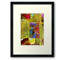 Becoming A Woman Framed Print