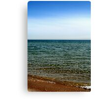 Colors of the Beach Canvas Print