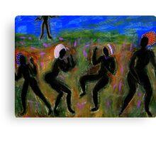 Dancing a Deliverance Prayer Canvas Print