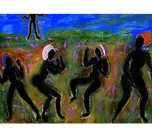 Dancing a Deliverance Prayer Photographic Print