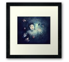 Beneath the Ice Framed Print