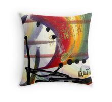 Over the Rainbow Throw Pillow