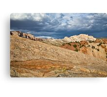 Split Mountain from Sound of Silence Trail 2 Canvas Print