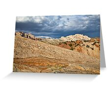 Split Mountain from Sound of Silence Trail 2 Greeting Card