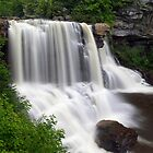 Blackwater Falls near Davis, West Virginia by Kenneth Keifer