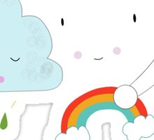 Get well soon little cloud Sticker