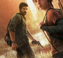 the last of us cover art Sticker