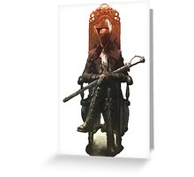 Bloodborne The Old Hunters Greeting Card