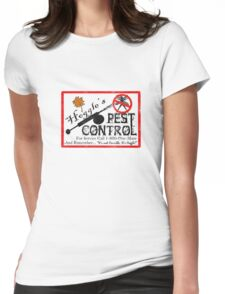 Hoggles Pest Control Womens Fitted T-Shirt