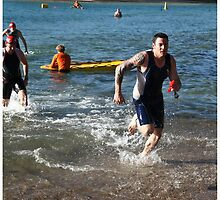 Kingscliff Triathlon 2011 Swim leg P183 by Gavin Lardner