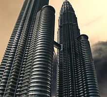 Apocalyptic Sky, Petronas Towers by Jane McDougall