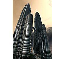 Apocalyptic Sky, Petronas Towers Photographic Print