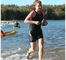 Kingscliff Triathlon 2011 Swim leg P192 by Gavin Lardner