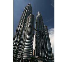 Blue Sky, Petronas Towers Photographic Print