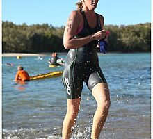Kingscliff Triathlon 2011 Swim leg P199 by Gavin Lardner