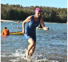 Kingscliff Triathlon 2011 Swim leg P207 by Gavin Lardner