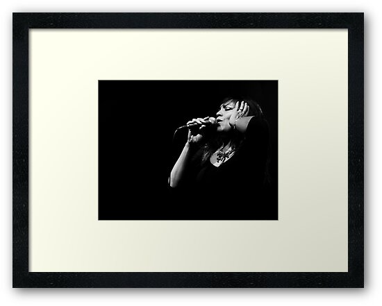 The Jazz Singer III by Trish Woodford