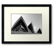 Sails of the Sydney Opera House Framed Print