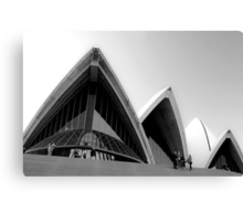 Sails of the Sydney Opera House Canvas Print
