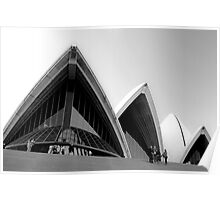 Sails of the Sydney Opera House Poster