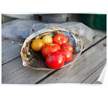 Tomatoes on the Half shell Poster