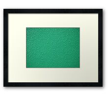 Image uneven surface closeup Framed Print