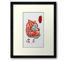Dharma Dragon Framed Print