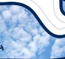 vineyard vines sky Sticker