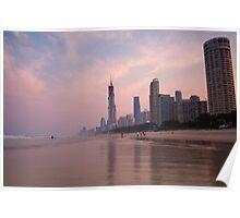 Surfers Paradise Beach Poster