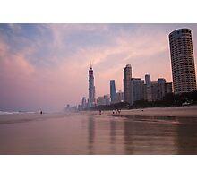 Surfers Paradise Beach Photographic Print