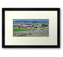Evans Plains Framed Print