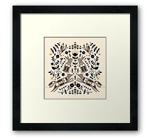 Woodland Folklore  Framed Print