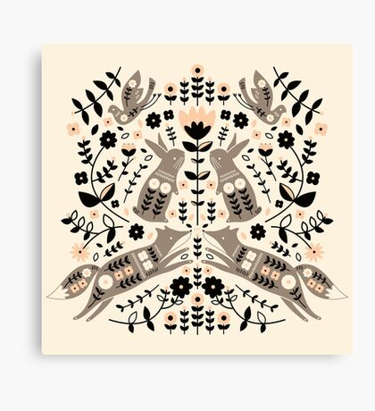 Woodland Folklore  Canvas Print
