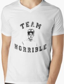 TEAM HORRIBLE Mens V-Neck T-Shirt