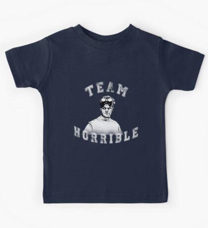 TEAM HORRIBLE Kids Tee