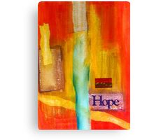 Windows of HOPE Canvas Print
