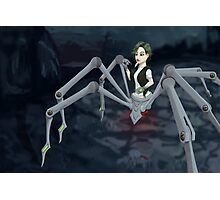 Cybernetic Spider Photographic Print