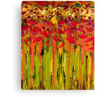 More Flowers in the Field Canvas Print