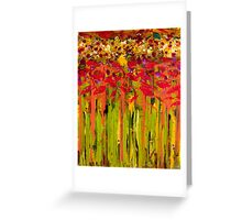 More Flowers in the Field Greeting Card