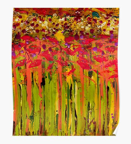 More Flowers in the Field Poster