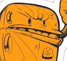 Hardboiled Fridge Sticker